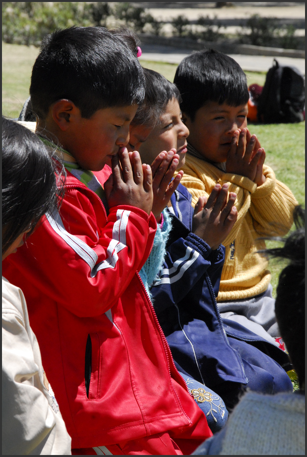 Kirkearbeid i Bolivia