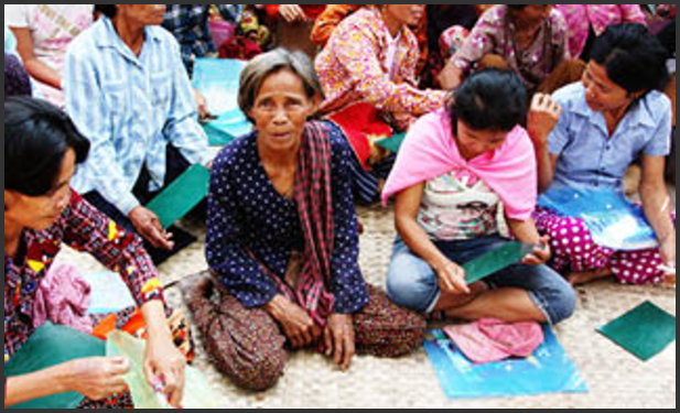 Organisering i Kambodsja