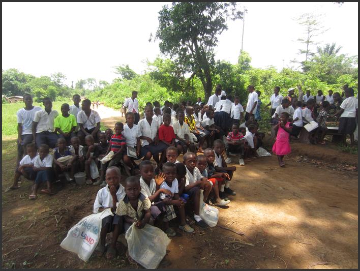 Sterkt møte med fattigdom i Liberia.