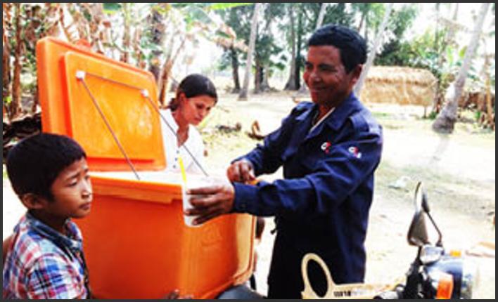 Arbeid og inntekt i Kambodsja