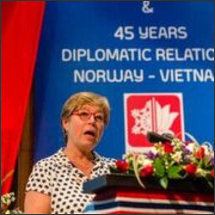 Statssekretæren på besøk i Vietnam