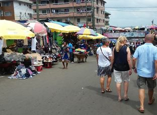 Norge-Liberia. Enorme kontraster!